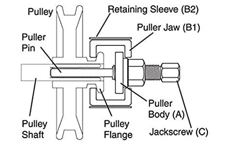 demontage poulie avec extracteur 41ybwh10