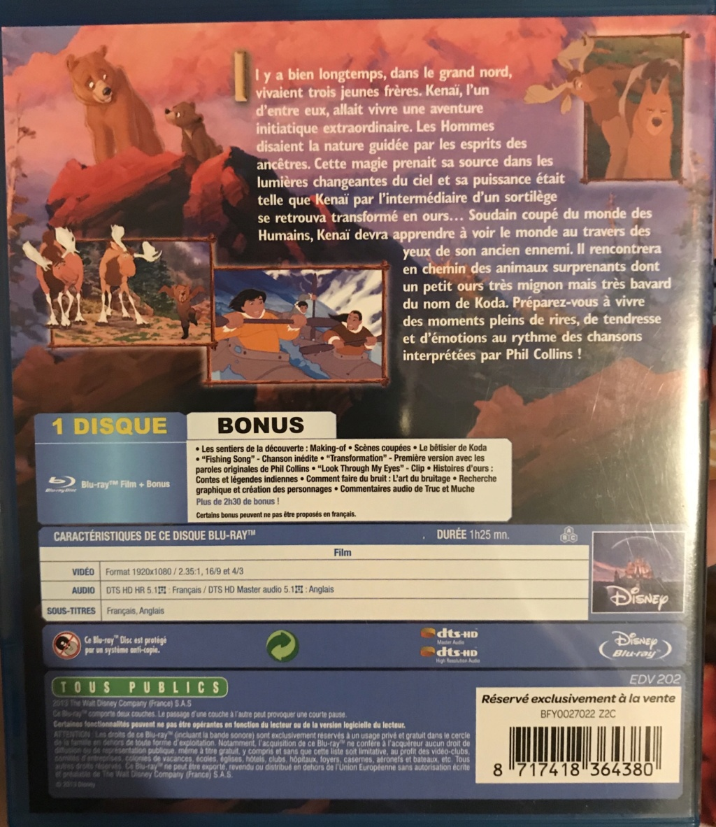 Les Blu-ray Disney avec numérotation... - Page 10 7884a010