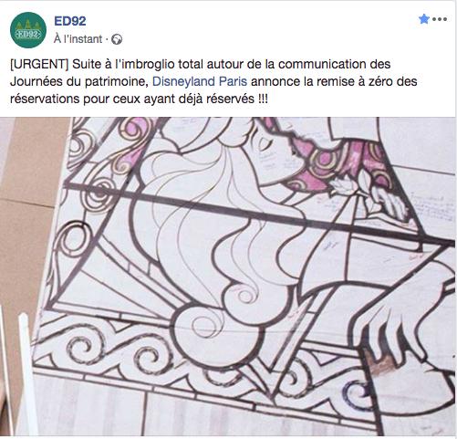 Disneyland Paris participe aux Journées du Patrimoine les 15 et 16 septembre 2018 Captur18