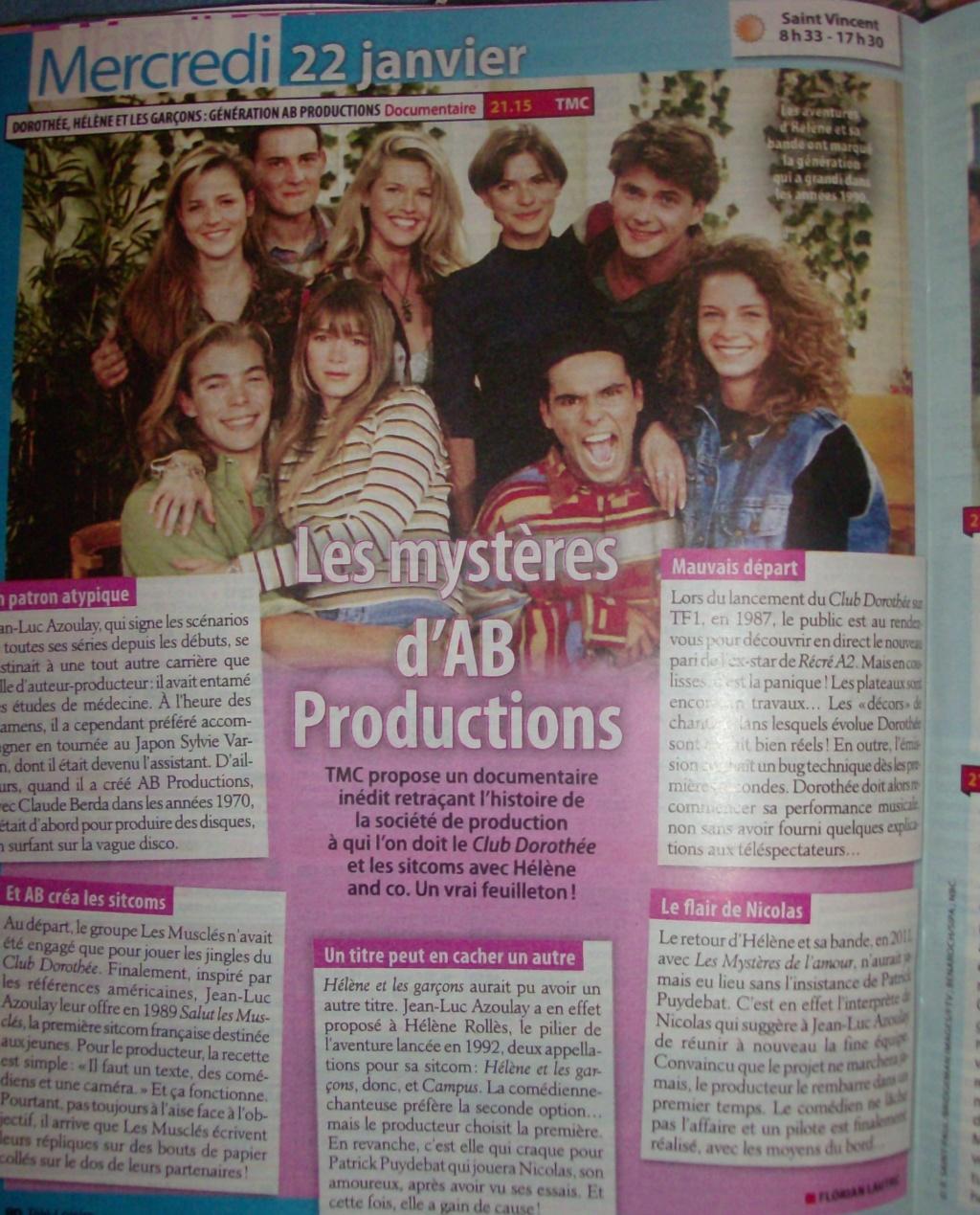 Génération AB Productions, le mercredi 22 janvier sur TMC - Page 2 Hpim5411