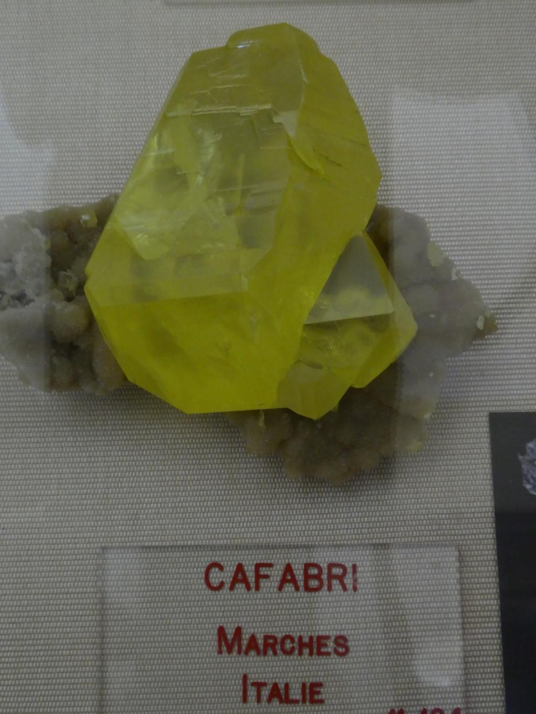Museo Mineralógico de París. P1010712