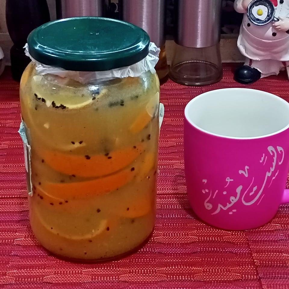 طريقة تخليل االبرتقال البلدي الطعم خطيرررررررر جربي في شهر رمضان 2021 15174810
