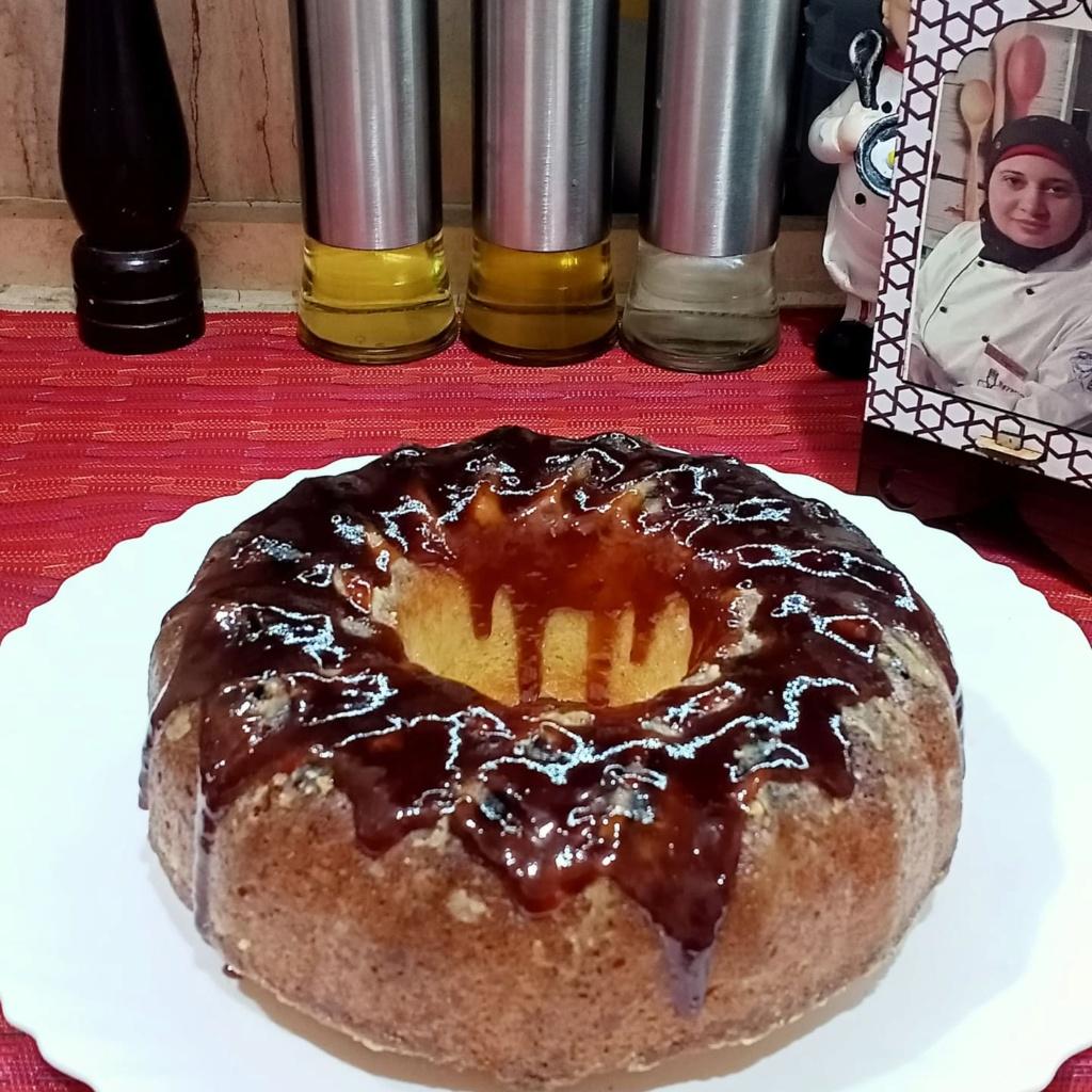 كيكة الرواني بمربي الفراولة حاجة كده وهم حلويات رمضان 2021 17835910
