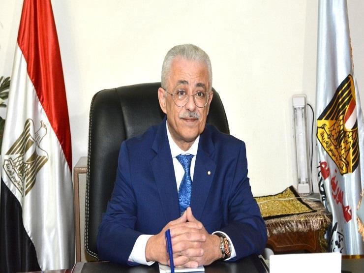 """وزير التعليم يكشف لـ""""مصراوي"""" حقيقة حذف أجزاء من المنهج وتحديد موعد الامتحانات 2020_151"""