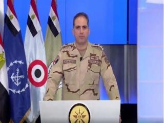 المتحدث العسكري ينفي انتشار الجيش لتطبيق حظر التجوال (بيان رسمي) 2020_222