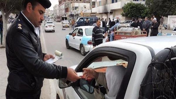 قانون المرور الجديد: الحبس سنة وغرامة 20 ألف جنيه عقوبة قيادة سيارة بدون رخصة 656_we11
