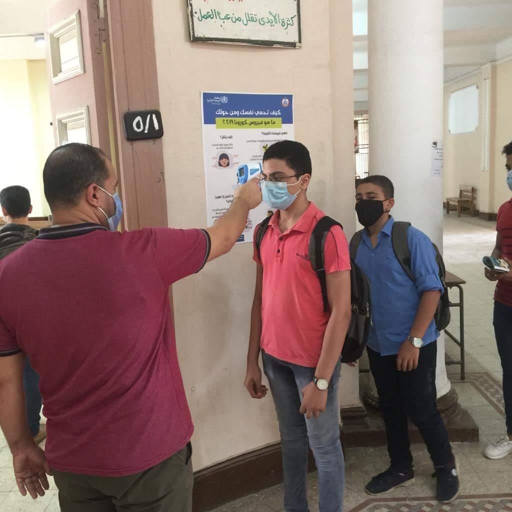 إقبال من الطلاب على مجموعات التقوية بالمدارس مقابل 10 جنيهات للحصة.. صور 85509-10