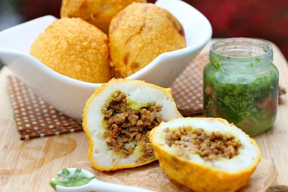 طريقة عمل كبة البطاطس الشامية 96408310