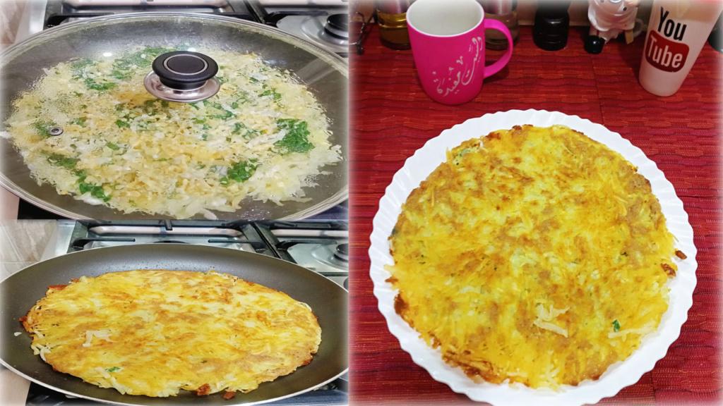 فطيرة البطاطس بالبيض للفطار والعشاء سهله وبسيطه من الست مفيدة Aoo_ao11