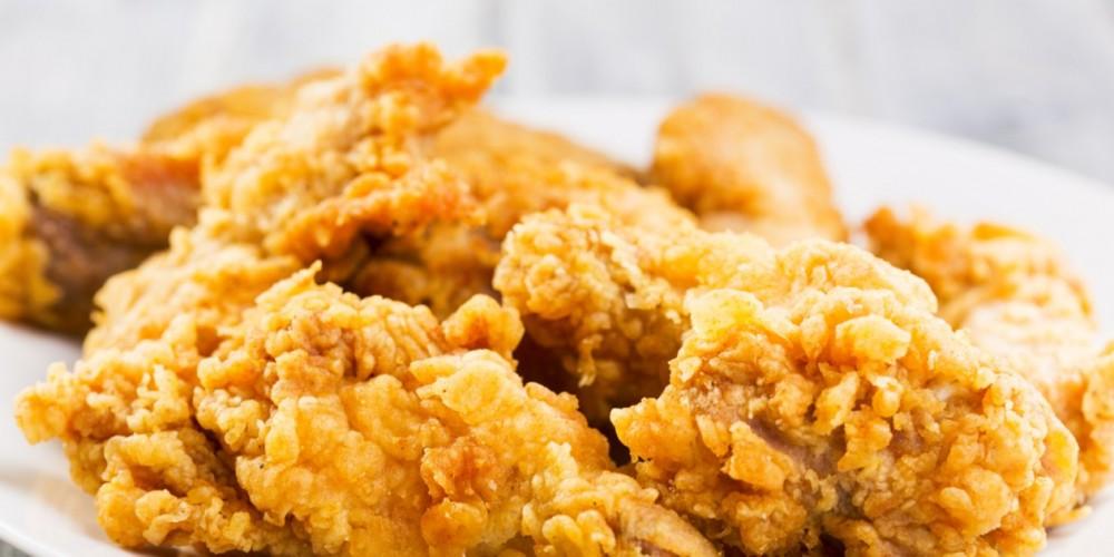 طريقة عمل دجاج كنتاكي  Fried-10