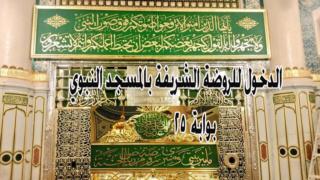 الدخول للروضة الشريفة للنساء بوابة 25 من المسجد النبوي الشريف Oioo_a10