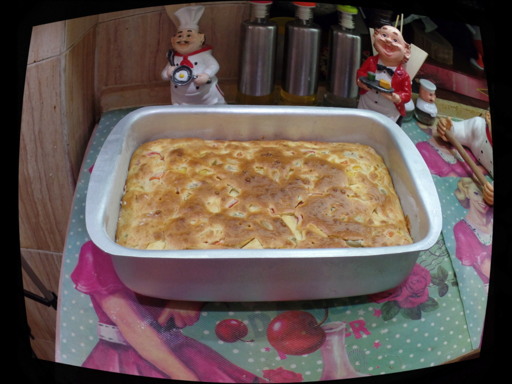 كيفية عمل كيكة مالحة بالجبن والفلفل الالوان / الست مفيدة Sam_0212