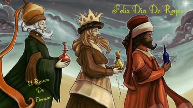 LOS REYES MAGOS LLEGARON AL FORO. -reyes10