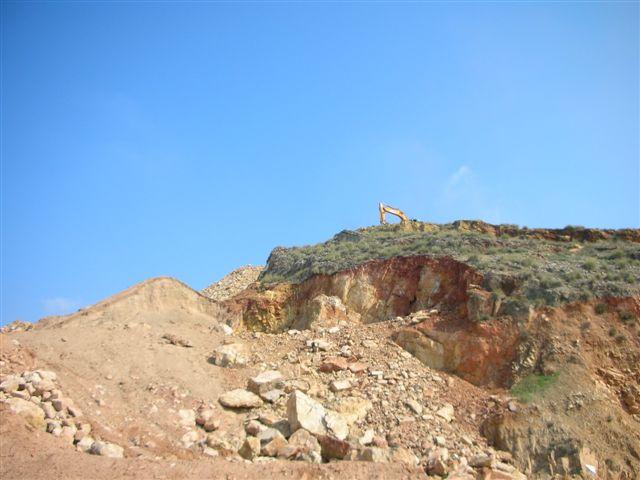 Yacimiento de Celestina, Cerro Moreno, Puente Tablas (Jaén) 29deju15