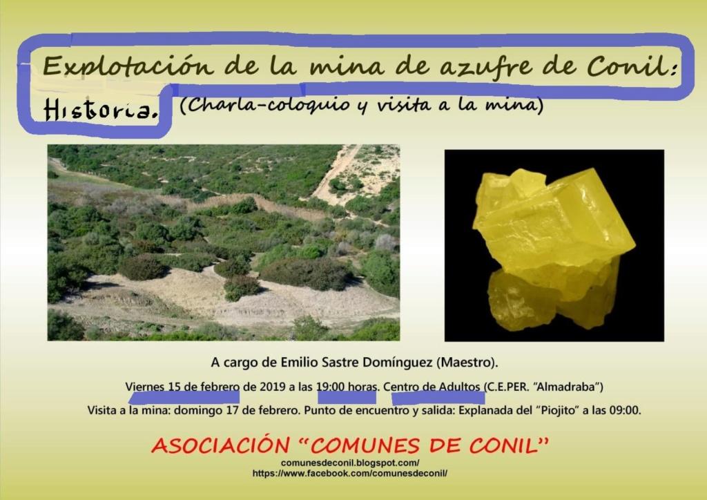 CHARLA-COLOQUIO Y VISITA A LA MINA DE AZUFRE DE CONIL (Cádiz) 51603010