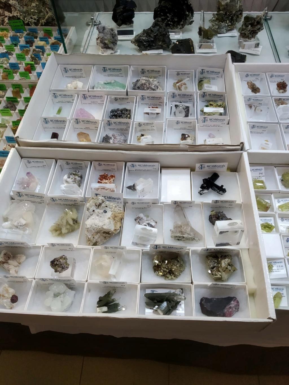 VI feria de minerales de Salamanca 56e2af10
