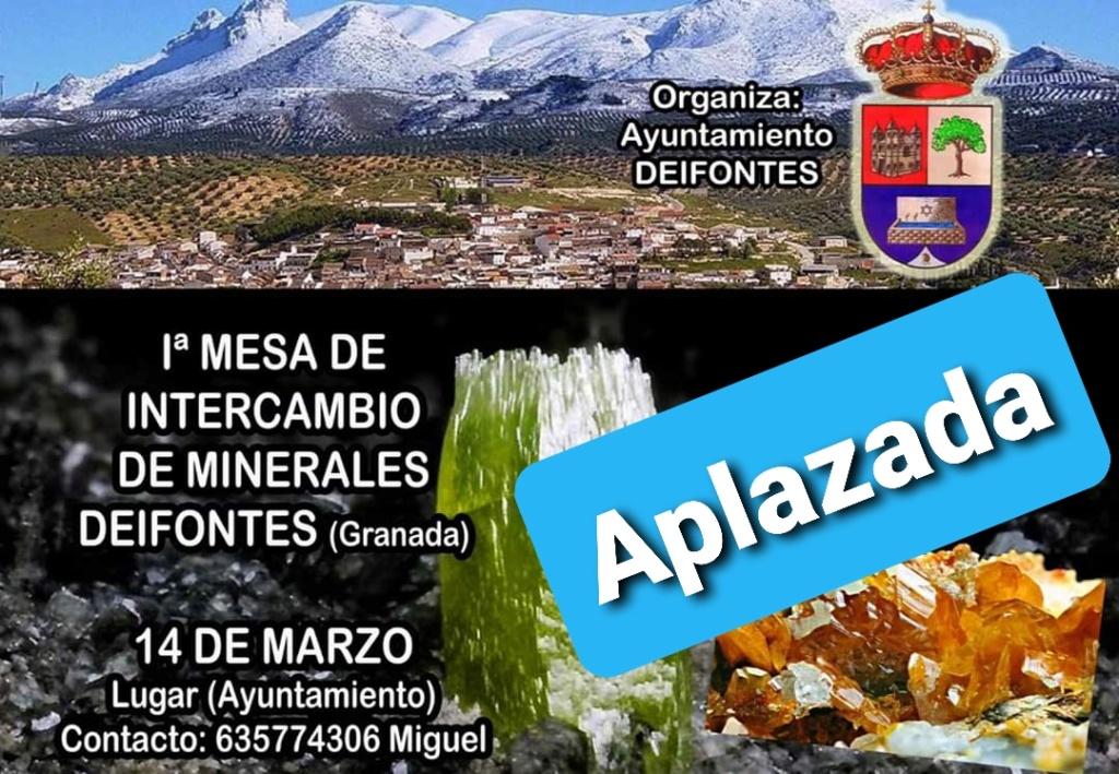 1 mesa de intercambio de Deifontes Granada -14 de Marzo 2020-contacto Miguel tlf-635774306 8962b810