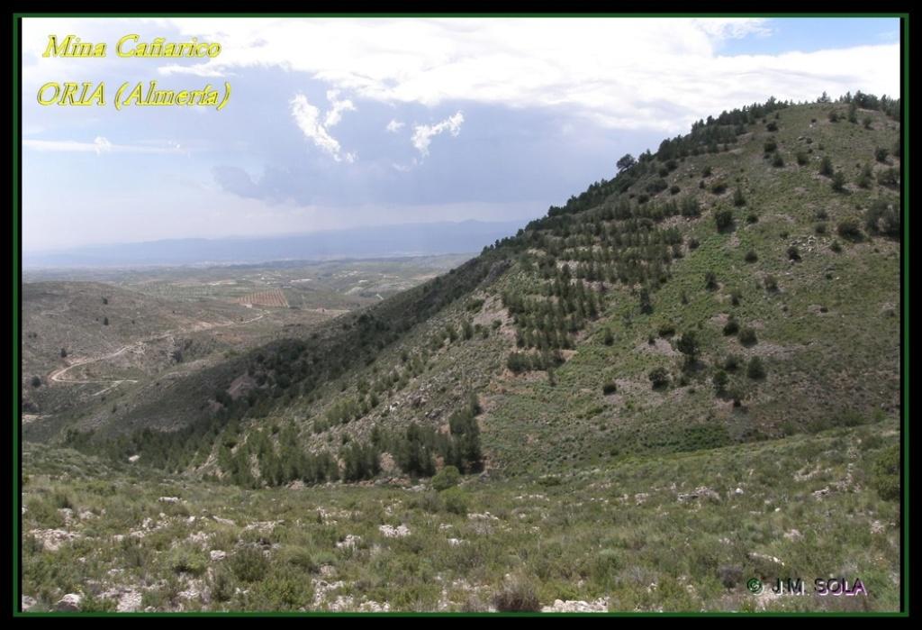 MINA DE DON JACOBO, MINA LOBULLI Y MINA CAÑARICO, ORIA (Almería) Cazari10