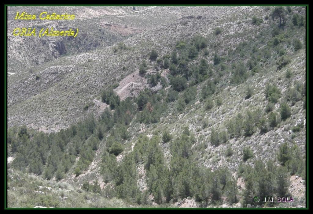 MINA DE DON JACOBO, MINA LOBULLI Y MINA CAÑARICO, ORIA (Almería) Cazari11