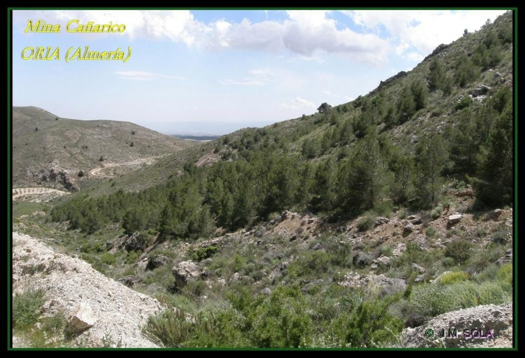 MINA DE DON JACOBO, MINA LOBULLI Y MINA CAÑARICO, ORIA (Almería) Cazari12