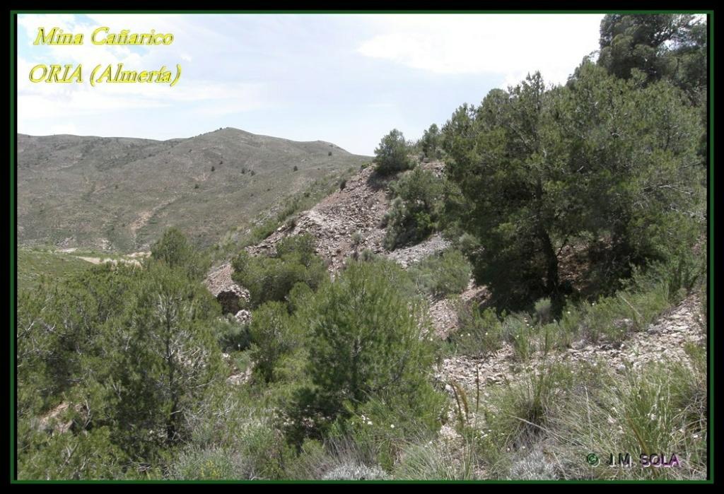 MINA DE DON JACOBO, MINA LOBULLI Y MINA CAÑARICO, ORIA (Almería) Cazari13