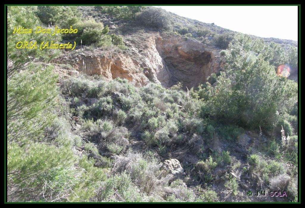 MINA DE DON JACOBO, MINA LOBULLI Y MINA CAÑARICO, ORIA (Almería) Don_ja15