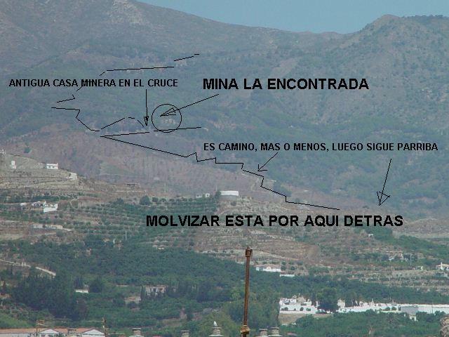 Mina La Encontrada, Molvizar, Granada  05 Abril 2003 Molviz11