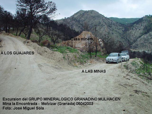 Mina La Encontrada, Molvizar, Granada  05 Abril 2003 Molviz14