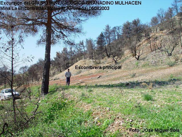 Mina La Encontrada, Molvizar, Granada  05 Abril 2003 Molviz15