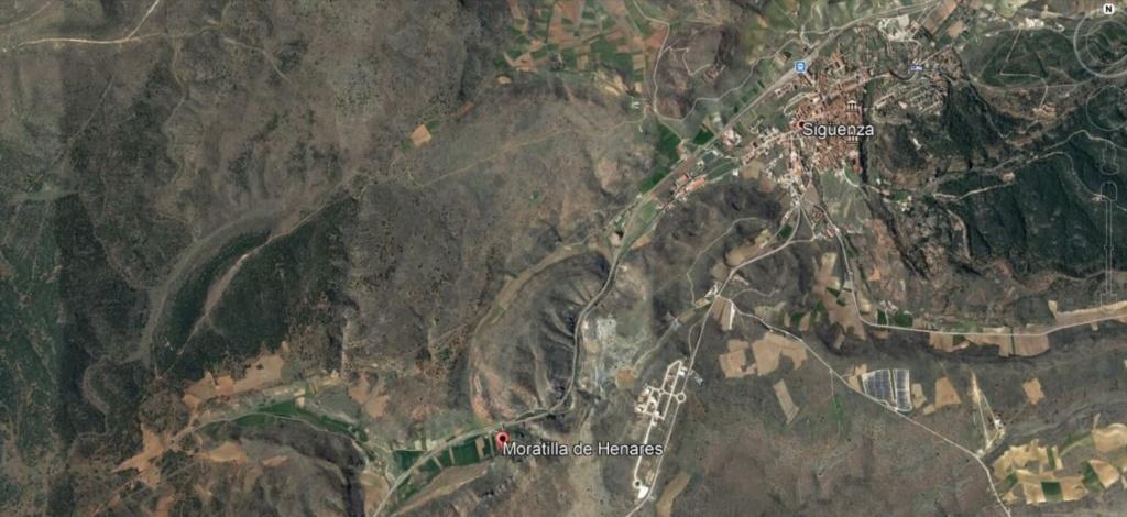 Yacimiento de Aragonito, Moratilla de Henares, Guadalajara Z010