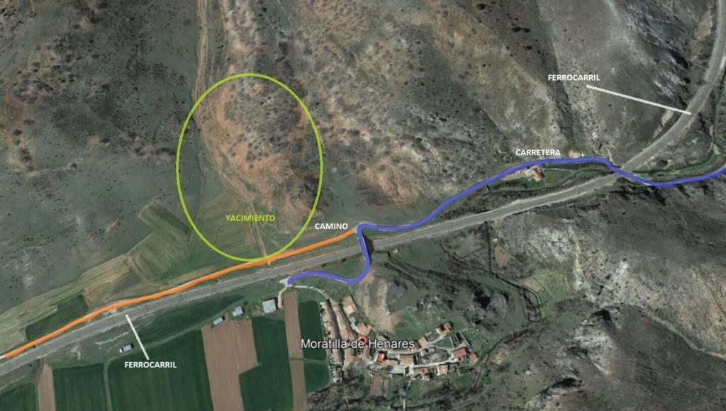 Yacimiento de Aragonito, Moratilla de Henares, Guadalajara Z110