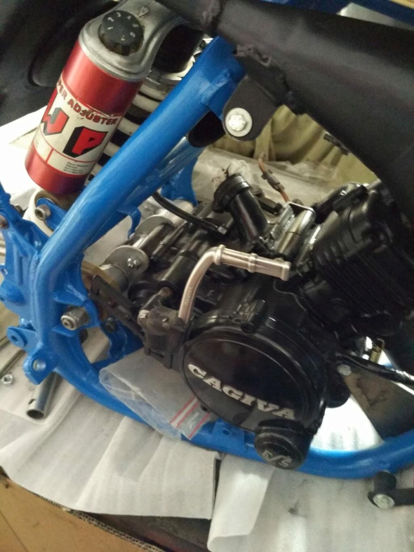 GasGas Enducross con motor de Cagiva 75 cc  N15810