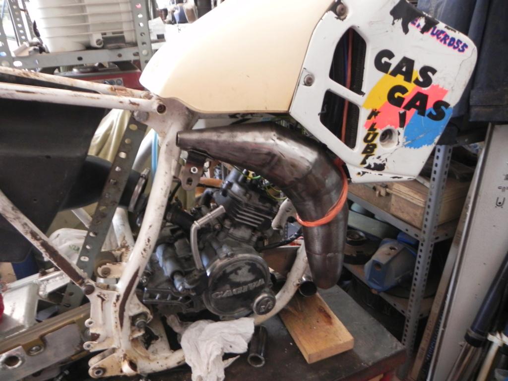GasGas Enducross con motor de Cagiva 75 cc N2510