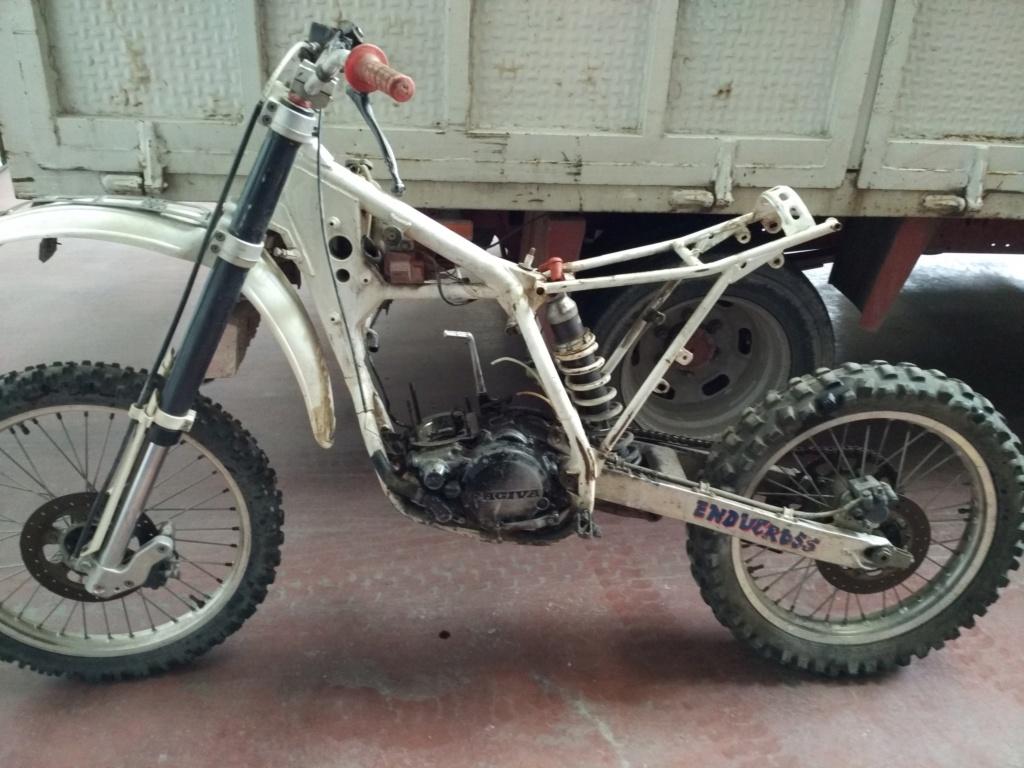 GasGas Enducross con motor de Cagiva 75 cc N711