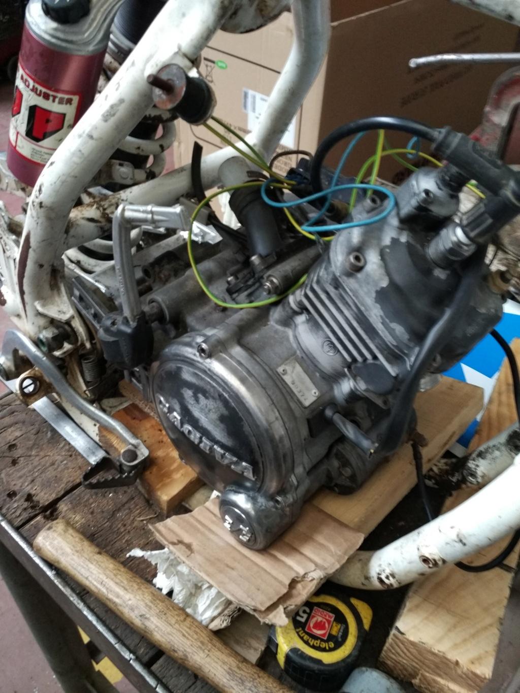GasGas Enducross con motor de Cagiva 75 cc N8110