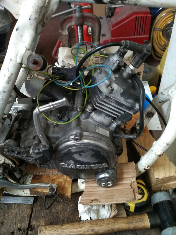 GasGas Enducross con motor de Cagiva 75 cc  N8410