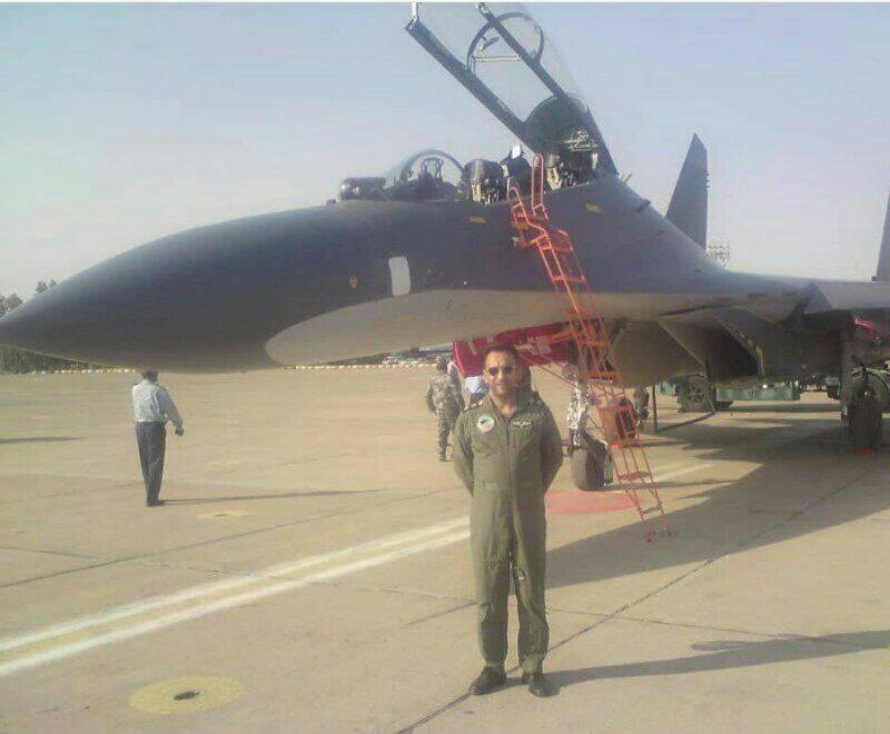 صورة لمقاتلة  الصينية جی-11 في إحدى قواعد القوات الجوية الإيرانية 12214410