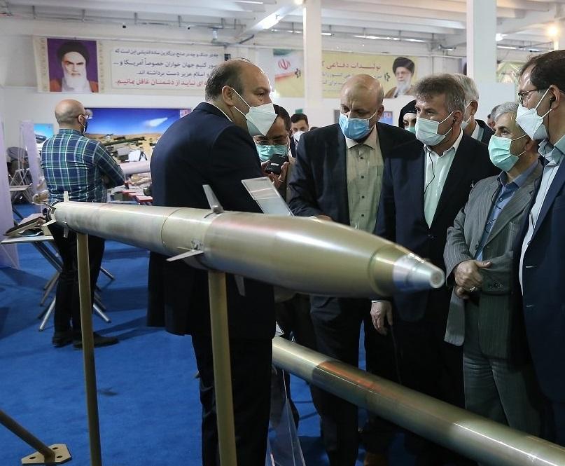 الكشف عن  صواريخ عيار 122 ملم بدقة اصابة اقل من 20 متر ايرانية الصنع 19040710