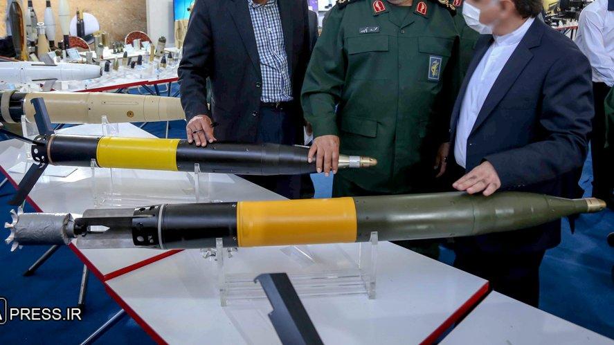 الهاون الايراني الجديد الموجه بالليزر طراز KM-8 Gran طراز 120 مم  E3vpar10