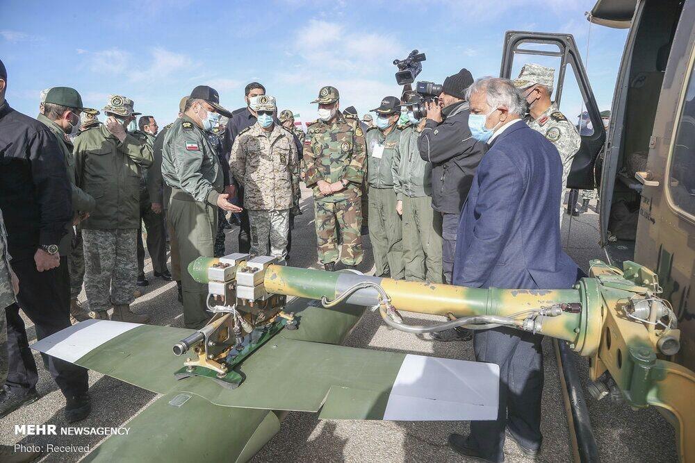 ايران تعلن عن انطلاق اكبر مناورة عسكرية كبرى بواسطة طائرات بدون طيار Eq_o2g10