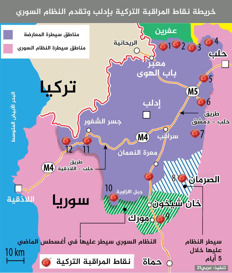 ما سبب الانهيار السريع لفصائل المعارضة السورية بريف إدلب؟ Icao_y10