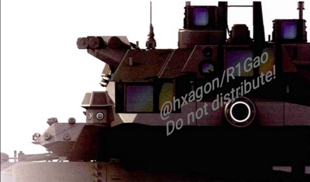 تسريب مقصورة القيادة للدبابة المستقبل الصينية قيد التطوير Img_2010