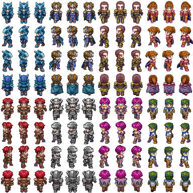 Characters XP para o VX ACE Charse10