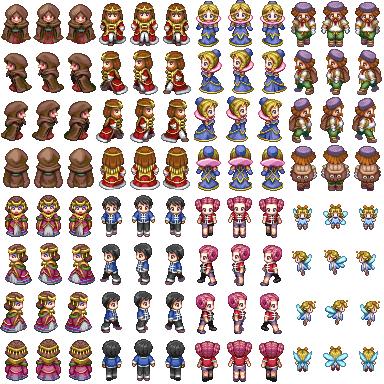Characters XP para o VX ACE Charse11