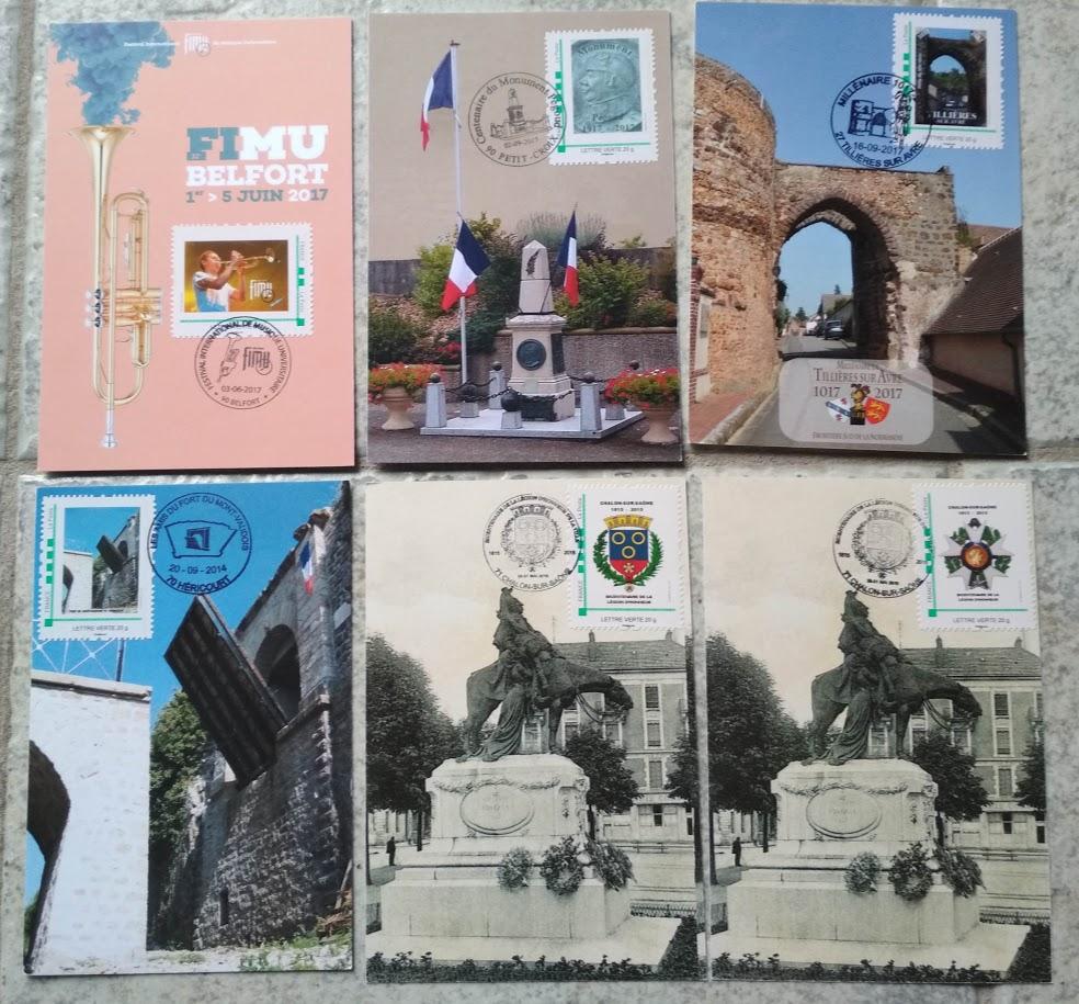 Carte Postale 1° Jour MTAM MonTimbrAMoi Img_2011