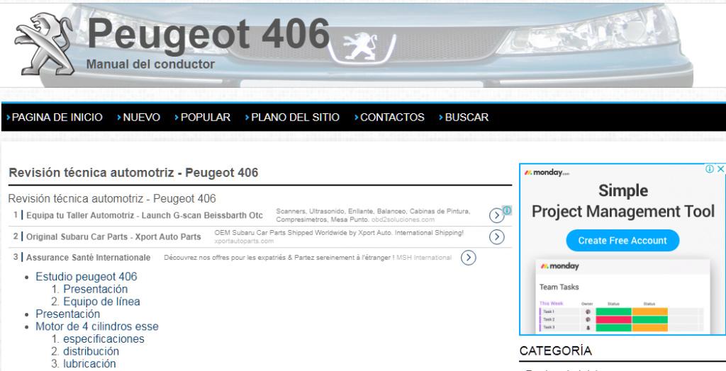MANUAL TALLER-USUARIO On-Line (español): PEUGEOT 406 (gasolina-diesel) - Página 4 A_peug10