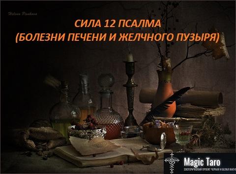 СИЛА 12 ПСАЛМА (БОЛЕЗНИ ПЕЧЕНИ И ЖЕЛЧНОГО ПУЗЫРЯ) En_e_z10