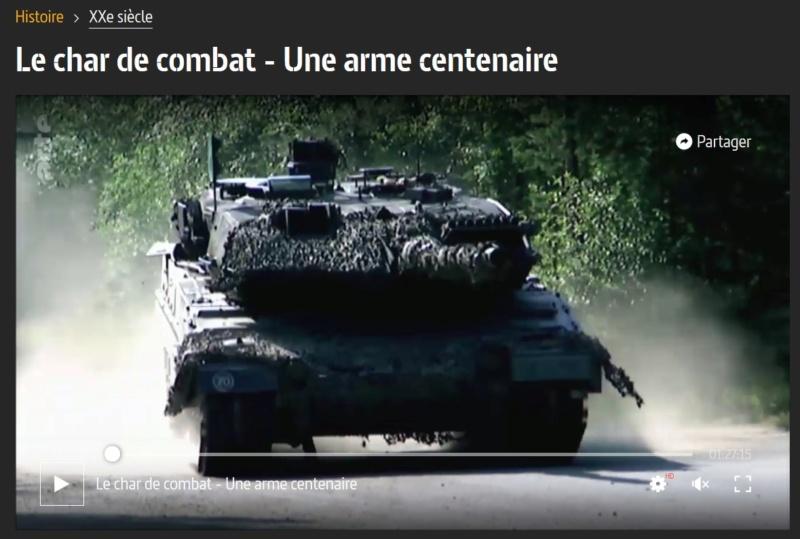 Le char de combat - Une arme centenaire 2151