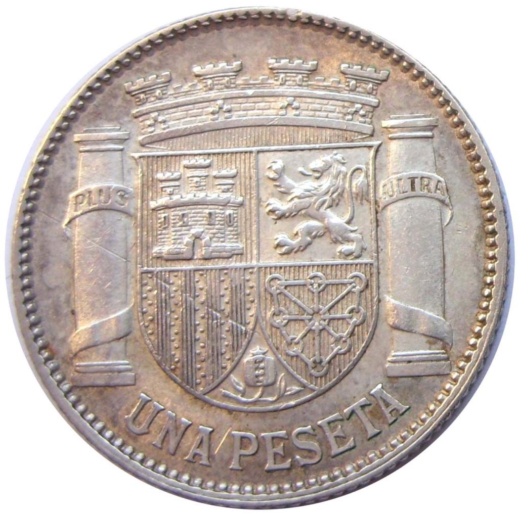 1 Peseta 1933 (*3-4). II República 1_211