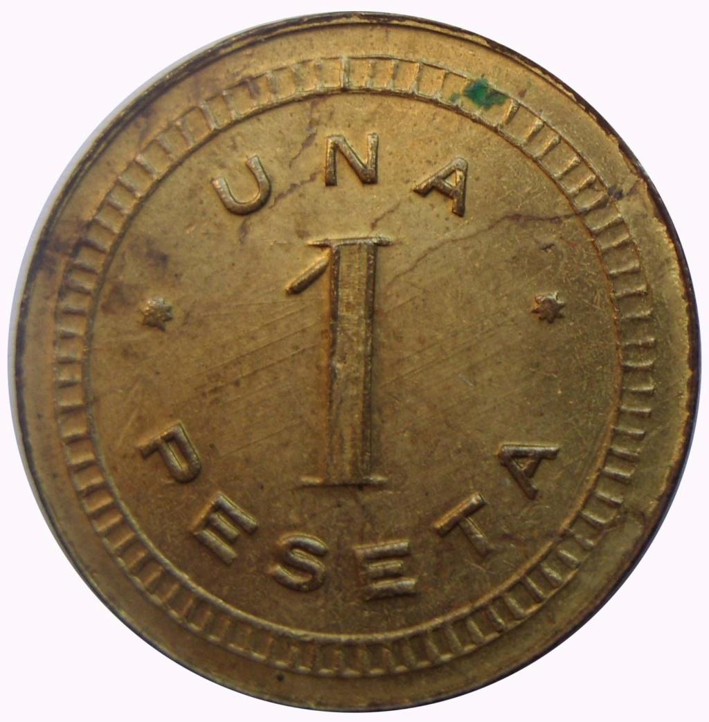 1 peseta. Lejona. Cooperativa obreros y empleados católicos. 7_210